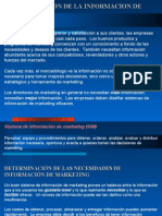 CAPITULO V - Administración de la información de marketing