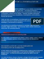 CAPITULO V - Administración de la información de marketing