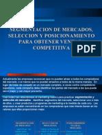 CAPITULO VII - Segmentación de mercados selección y posicion...