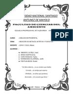 5 - Medicion de Metales, Nitritos y Fosfatos