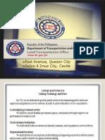 Land Transportation Office (LTO)