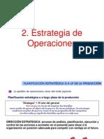 2- Estrategia de Operaciones (1)