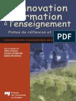 Innovation en Formation Enseignement