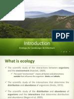 Ecological Landscape Arch-1 Introduction
