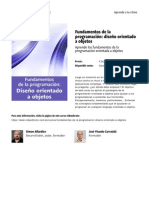 Fundamentos de La Programacion Diseno Orientado a Objetos