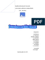 Trasnformacion Lineal Algebra