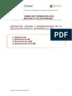 Definicion Generaciones 2014 Def