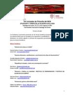 XVI Jornadas de Filosofía Del NOA. III Circular