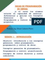 Control y Obras Diapositiva # 1