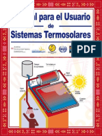 Sistema Termosolar Manual