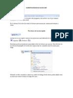 Elementos Básicos de Access 2007