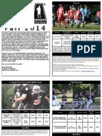 Fall '14 Brochure
