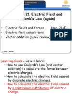 51 Ch21B CoulombsLaw Electric Field