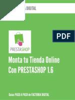 Monta Tu Tienda Online Con Prestashop 1.6