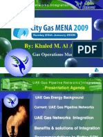 Khaled Malallah Al Awadi at City Gas MENA 25 Jan 2009