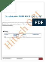 OBIEE 11g Installation(11.1.1.5)