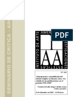 Emergencia y consolidadción del Diseño en Argentina