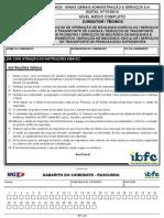 Ibfc 03 Condutor Tecnico Diversos Cargos