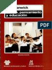Keith Swanwick; Musica Pensamiento y Educación