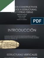 Procesos Constructivos Aplicados a Estructuras, Vías y