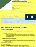 Tema 8 - Señalización de Seguridad y Alarmas.