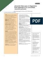 Diagnostic Pneumonia Exploració Fisica
