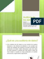 Auditoria de Datos