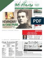 Oak Leaves Ernest Hemingway Edition
