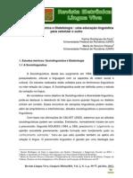 19 Sociolinguística e Dialetologia - Uma Educ. Ling. p Valorizar o Outro - Faria e Pessoa