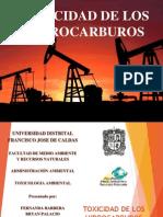 TOXICIDAD HIDROCARBUROS