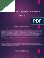 Business Ethics Unit-1