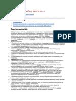 Plan de Orientación y Tutoría 2012