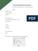 Cuarta Práctica de Programacion Digital