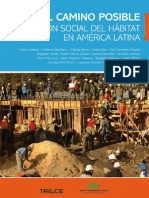 Arebalo, Martha. Et Al. El Camino Posible. Podruccion Social Del Habitat en America Latina