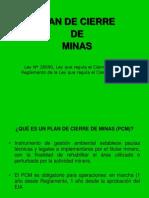 03 Cierre de Minas y Pasivos Ambientales