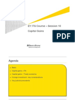 EY ITS Course Session 10 Capital Gains