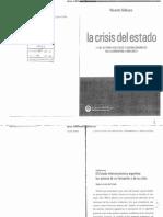 Sidicaro, Ricardo - La Crisis Del Estado