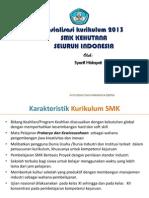 Pengembangan Kurikulum 2013 SMK