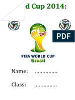 World Cup Project Book