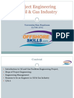 Project Engineering in Oil & Gas Industry Shared