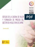 Estudio de Cadena de Valor Del Pollo España