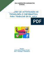 Catálogo de Actividades Para Tecnologia e Informatica