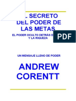 Corentt Andrew - El Secreto Del Poder de Las Metas