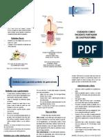 Cuidados Com o Portador de Gastrostomia