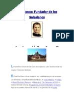 Fundador de Los Salesianos