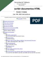 Guia Para Escribir Documentos HTML