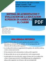 Sistemas de Acreditación y Evaluación de La Educacion Superior en Amer Latina Caribe