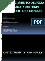 Abastecimiento de Agua Potable y Sitemas Complejos de Tuberias