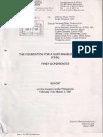 FSSI First Experiences