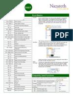 Free Excel 2007 QuickRefGuides